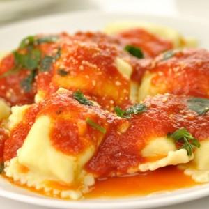 Ravioli with Tomato