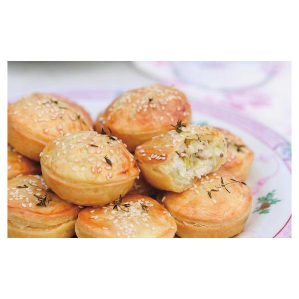 mini-chicken--celery-and-thyme-pies