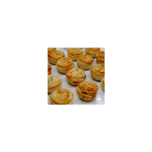 mini chicken pie